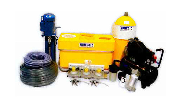 Numedic Effluent Pumps Platforms PTO Booms Hydrants Pipe Irrigators Hydrofan Drenching Agriculture